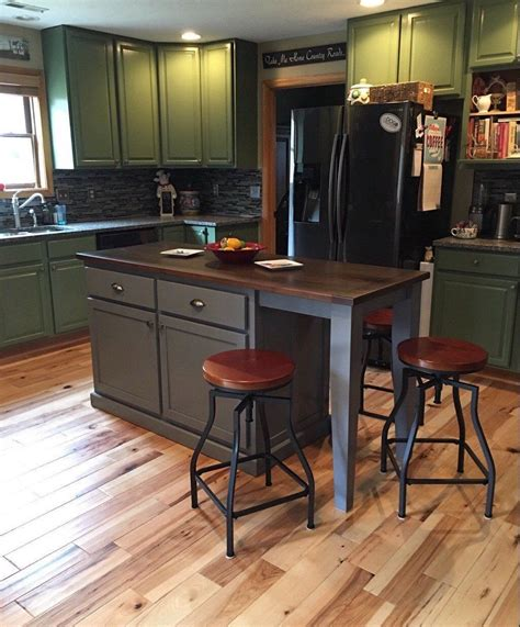 item  kitchen island  seating  tapered legs