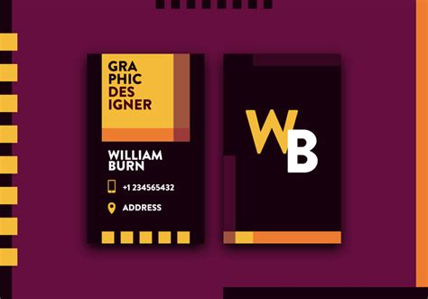 Vetor De Cartão De Visita De Designer Gráfico Graphic Design Business Card Psd Classic Free Diy Dispenser Clear Envelopes Wooden Holders Australia Online Shop Degree On Etiquette Name
