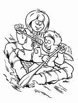 Scouts Raft Vlot Coloring Kleurplaten Scouting Kleurplaat Leukekleurplaten 1001coloring Kleur Total Nice sketch template