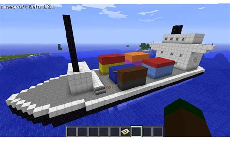 Boats Minecraft by Minecraft Cargo Boat D By Heburntthewaffles On Deviantart