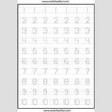 Number Tracing This Actual Page  Цифры  Kindergarten Worksheets, Worksheets, Tracing Worksheets