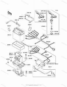 Kawasaki Jet Ski 1998 Oem Parts Diagram For Electrical Equipment
