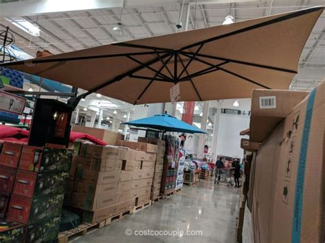 proshade square cantilever umbrella