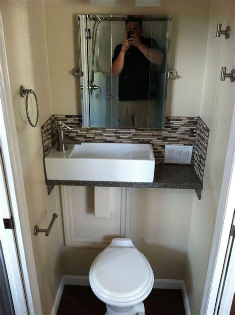 tiniest bathroom designs best small half bathrooms ideas on pinterest half bathroom design 35 apinfectologia