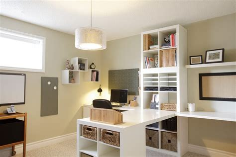 ikea kallax home office traditional  built  white