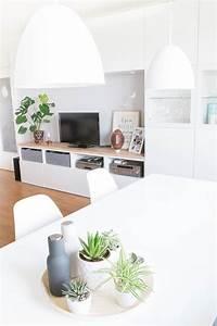 Deko Für Wohnzimmer : die besten 25 wohnzimmer pflanzen ideen auf pinterest ~ Michelbontemps.com Haus und Dekorationen