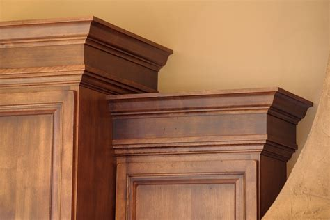 crown molding on top of cabinets crown molding by mullet cabinet diy pinterest