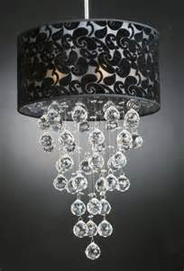 DIY Crystal Chandelier Lamp Shades