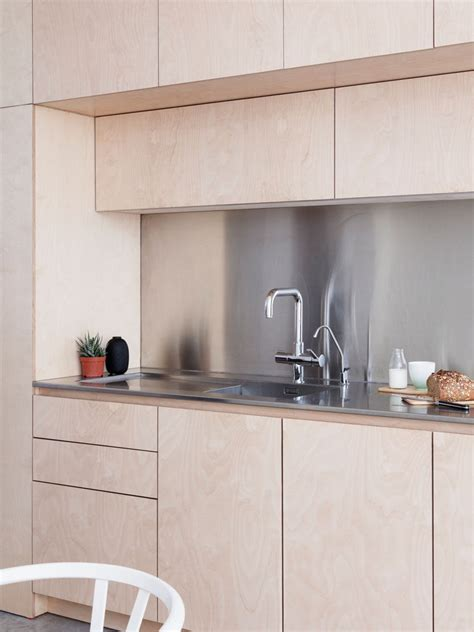 kitchen backsplash ideas for light wood cabinets light wood cabinets with stainless steel countertops and