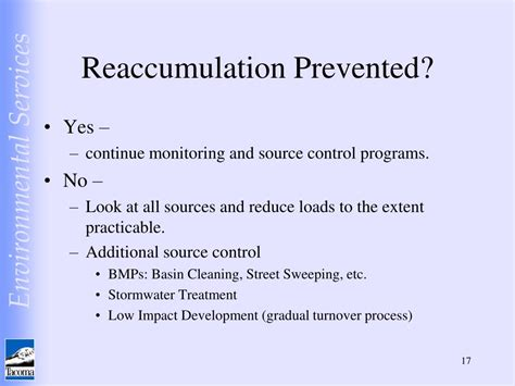 managing recontamination reaccumulation   urban
