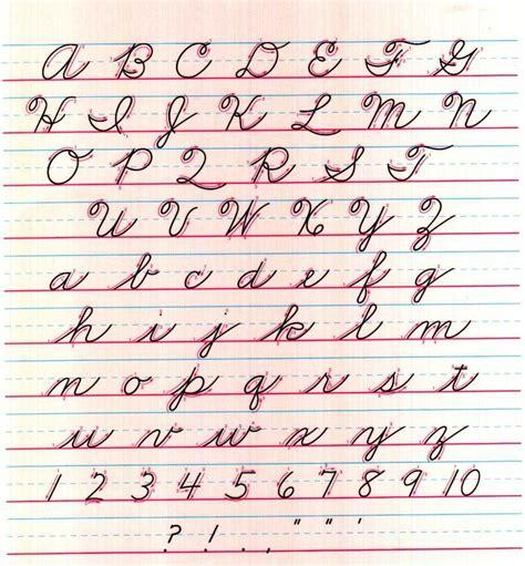 cursive writing worksheets zaner blosure cursive food