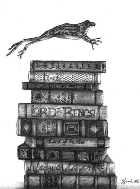 vintage book stack sketch - Google Search | Drawing prints