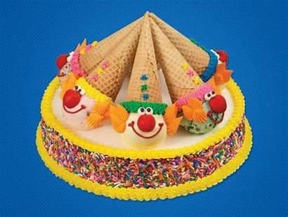 Baskin Robbins Clown Cake Cone Ice Cream