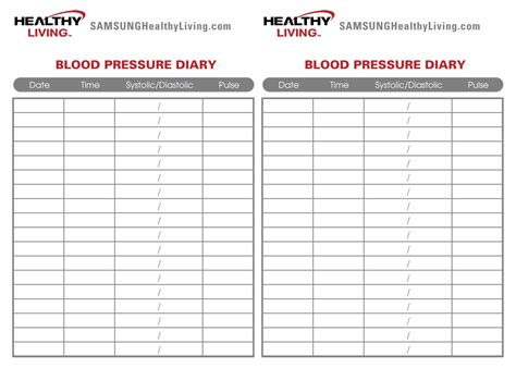 5 best images of printable blood pressure chart free printable blood pressure chart printable
