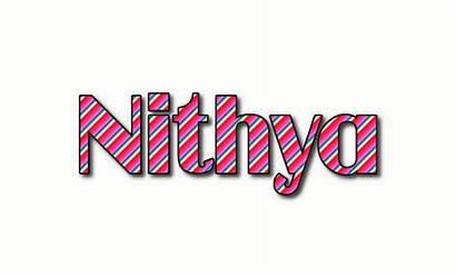 Nithya Text Logos