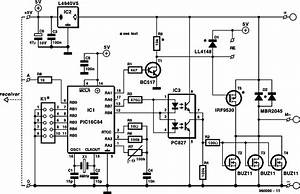 Circuits Composed Of Hs101 Hs201 Channels Remote Control Hs101hs201 Switch Circuit Diagram
