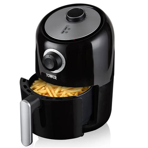fryer air tower compact 6l digital litre fryers fat food healthy 6ltr cooking low preparation cook chip clearance health 1000w
