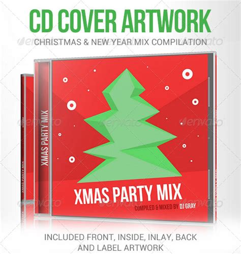 christmas party mix cd christmas decore