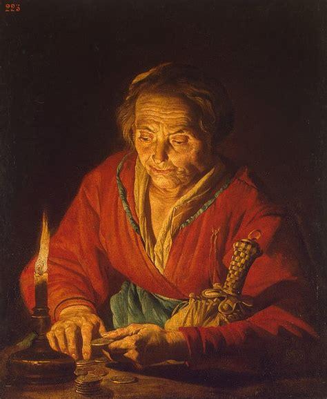 woman   candle matthias stomer hermitage museum