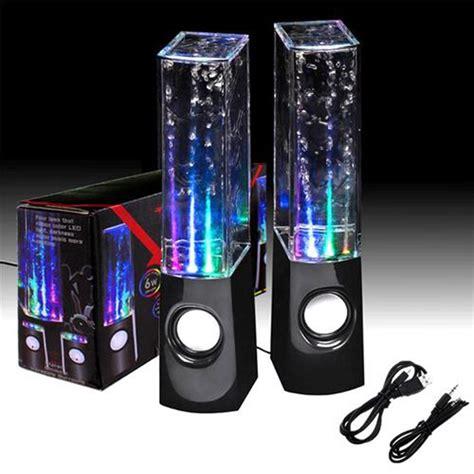 water light speakers 2 x water led jet light speakers
