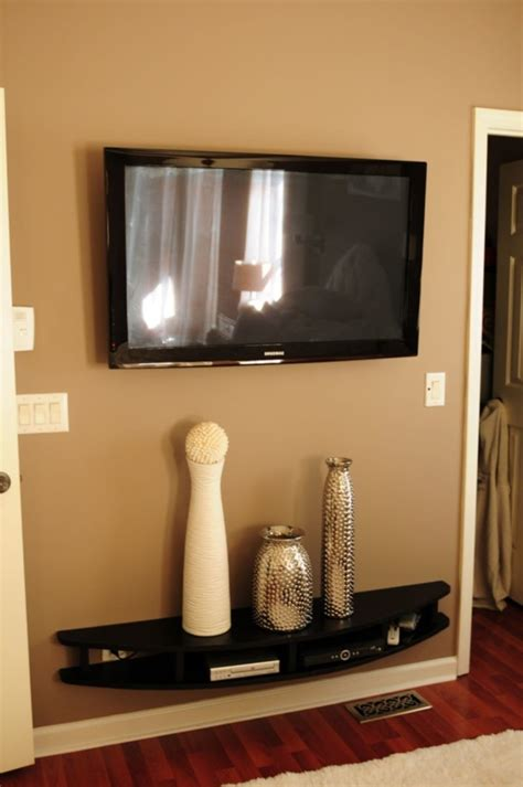 Wall Mount With Shelf by With Best Tv Wall Mount Shelf Loccie Better Homes