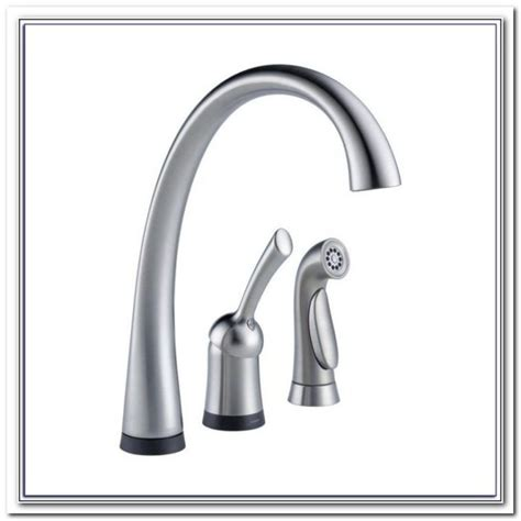 no touch kitchen faucet delta touch faucet no water sink and faucet home