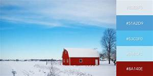 50 beautiful color combinations for your next design project With barn red color schemes