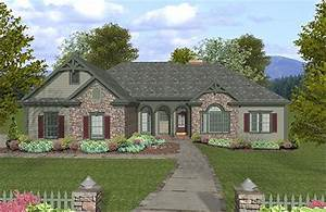 Traditional, Style, House, Plan, Ft