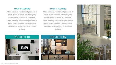solutions business keynote  template