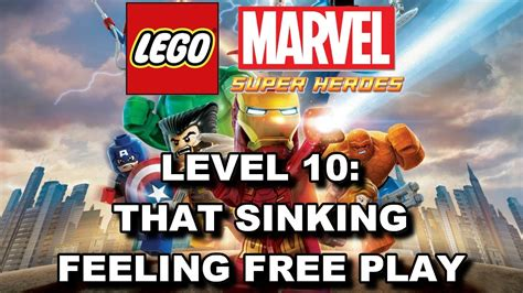 lego marvel that sinking feeling minikit lego marvel heroes level 10 that sinking feeling