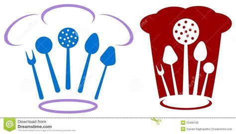 outil conception cuisine logo de chef photo stock image 23496130