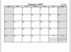 Free Monthly Calendar or Planner Printable Online