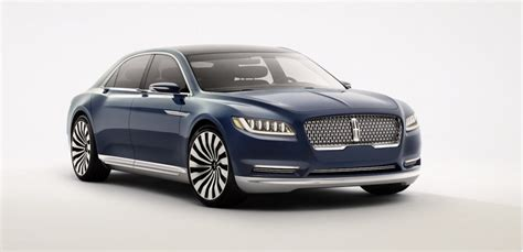 Lincoln Continental Prototype by Lincoln Continental Concept Debuts At The 2015 New York