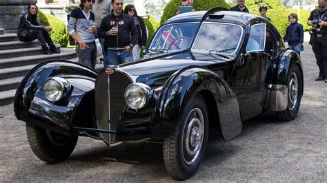 Ralph Lauren $40mln Bugatti Type 57 SC Atlantic - 3x Start ...