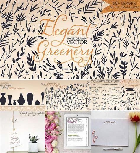 elegant wedding card vector greenery  images