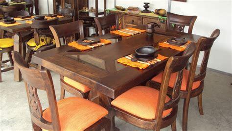 comedores de madera muebles madera rusticos mueble madera rustico muebles