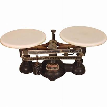 Balance Pan Scale Antique Ohaus Double Pans