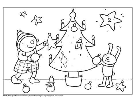 Kerst Kleurplaat Peuters by Uk En Puk Kerstmis Kleurplaat Uk Puk Kerst