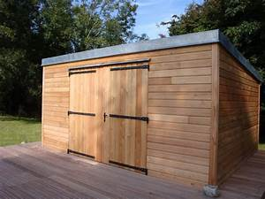 Cabanon En Bois : abri de jardin pergola bois ~ Premium-room.com Idées de Décoration