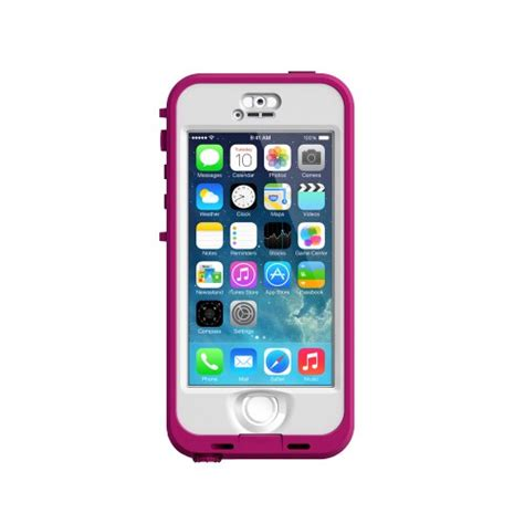 cheap lifeproof cases for iphone 5s lifeproof iphone 5s nuud series blaze pink clear Cheap