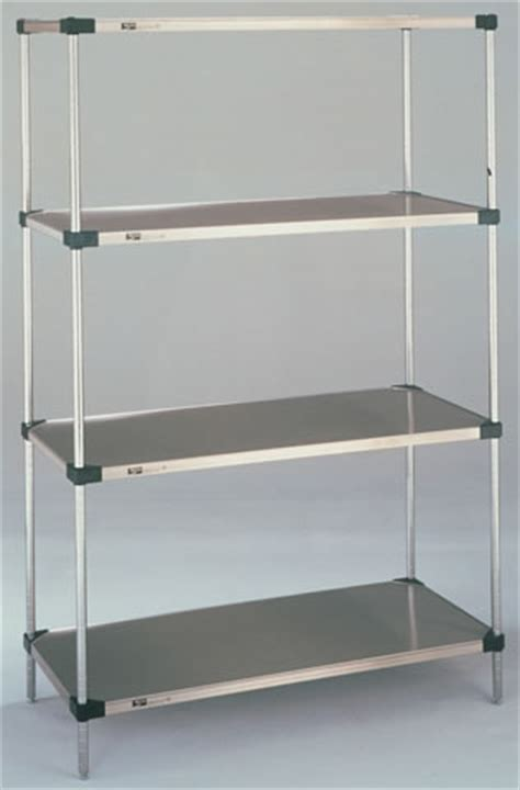 stainless steel solid kitchen shelving super erecta solid shelving galvanized shelves stainless