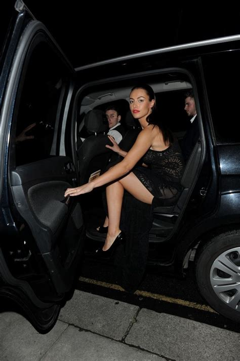 Hannah Janes Night Out Style - George Michael Album Launch ...