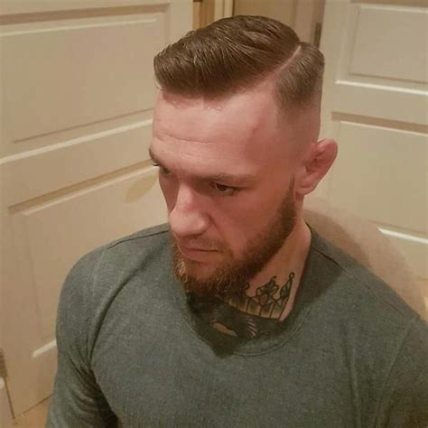 how to get the conor mcgregor haircut from buzz cut to