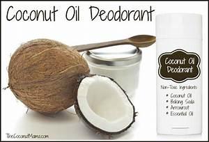 Coconut Oil Deodorant - The Coconut Mama