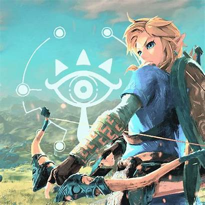Zelda Wild Breath Link Legend Jeux Dessin