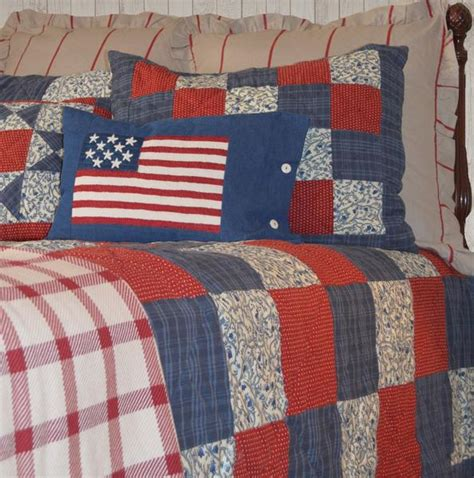betsy americana quilt set retro barn country linens