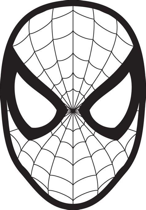 spoderman template logo mask clipart 23425wall jpg stuff vinyls for