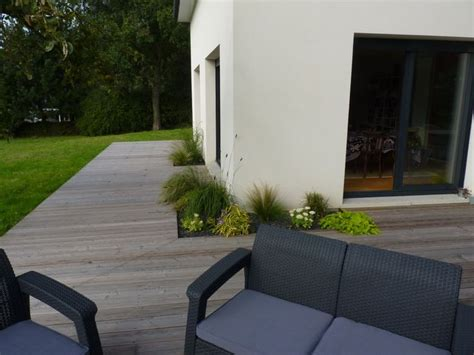 charmant amenagement paysager maison moderne 7 paysager devant maison sur