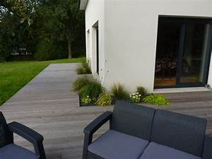 les 25 meilleures idees de la categorie terrasse maison With exceptional amenagement exterieur maison neuve 0 amenagement exterieur maison images