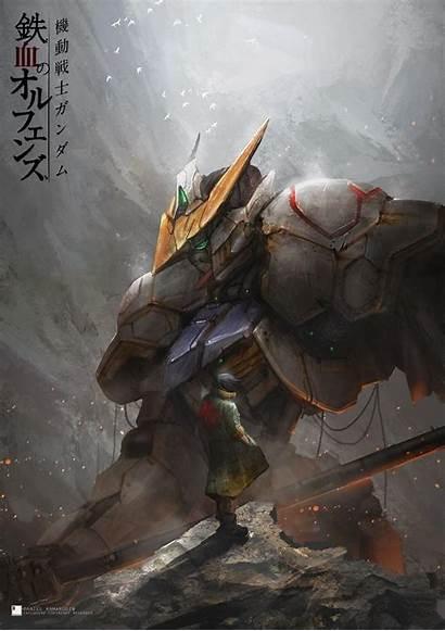 Gundam Barbatos Wallpapers Iron Blooded Orphans Suit